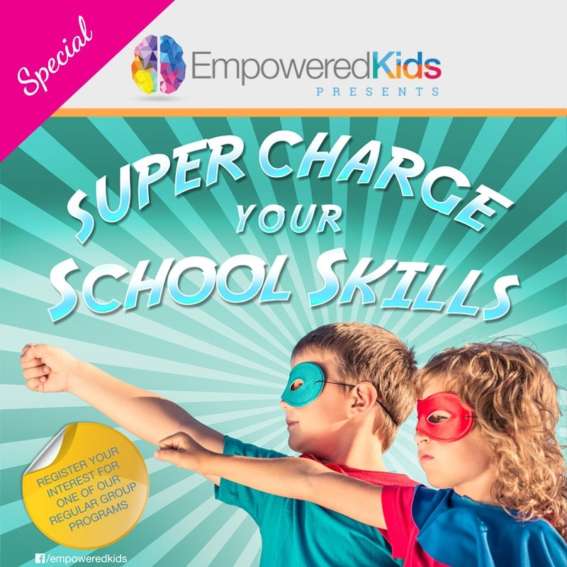 Super Charge Your School Skills Workshop by Empowered Kids Occupational Therapists Gold Coast