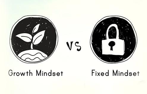 Growth Mindset vs Fixed Mindset image